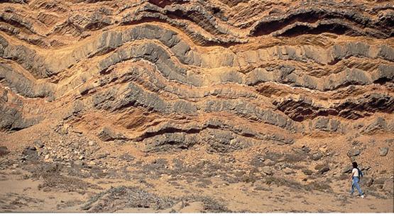 Los estratos registro del pasado un planeta con canas for De donde es la roca