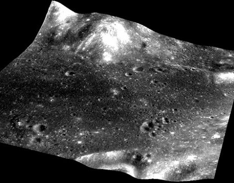 Las huellas encontradas en la Luna. | Afp / ISRO