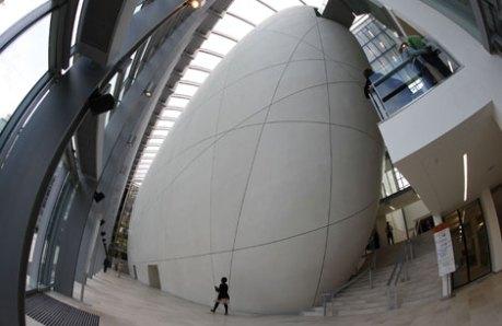 El espectacular edificio del nuevo Centro Darwin. | Reuters